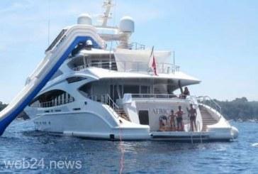 Fotbal: Cristiano Ronaldo, în vacanţă pe noul său yacht de 6 milioane euro