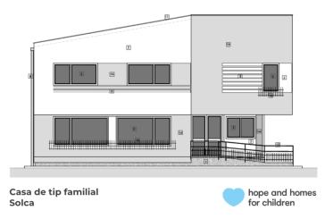 Hope and Homes for Children în parteneriat cu Uniprest Instal dotează cu instalații sanitare o casă de tip familial din județul Suceava