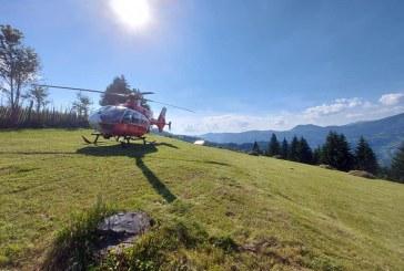 URGENTA- Elicopter cerut la Budesti pentru a salva viata unui turist