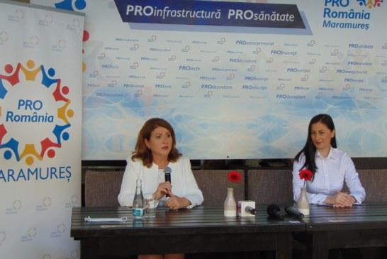 Pro România Maramureș se pregătește de alegeri: Viorica Marincaș vrea șefia Consiliului Județean, iar Anca Remeș la Primăria Baia Mare
