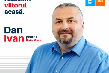 Dan Ivan (USR PLUS): Vom face Baia Mare un oraș pentru oameni, nu pentru mașini