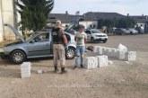 Mașină ticsită cu țigări oprită în trafic la Vadu Izei de polițiștii de frontieră maramureșeni