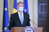 VIDEO – Iohannis: Numărul de cazuri de COVID-19 a scăzut semnificativ; de la sfârşitul săptămânii vor fi redeschise pieţele