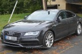 Audi A7 căutat de autoritățile din Slovacia, descoperit de polițiștii de frontieră