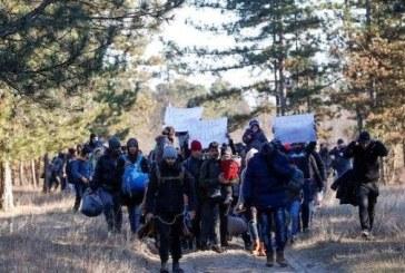 Migranţii îşi instalează corturi în Serbia, aşteptând un moment prielnic pentru a se strecura în statele UE