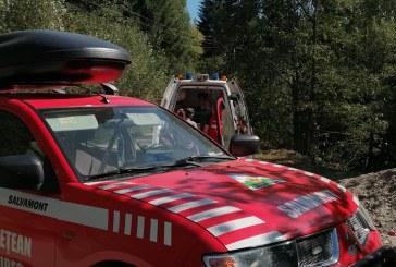 Salvamontiștii maramureșeni au intervenit în zona localității Poienile de sub Munte