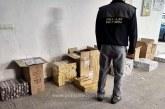 Polițiștii de frontieră din Sarasău au confiscat aproximativ 9.000 de pachete cu țigări de contrabandă