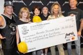 Rockerii de la Metallica susțin în continuare Asociația Dăruiește Viața și proiectul acestora
