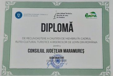 Consiliul Județean Maramureș a devenit membru în cadrul Rutei Cultural Turistice a Bisericilor de Lemn din România