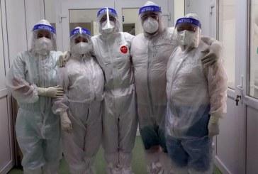 Membrii SANITAS, a doua zi de grevă japoneză în spitalele din Maramureș