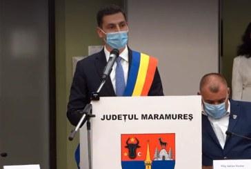 Ionel Bogdan a fost învestit în funcția de președinte al Consiliului Județean Maramureș (VIDEO)