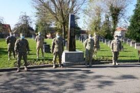 Centrul Militar Județean, acțiune în memoria eroilor și veteranilor de război maramureșeni (FOTO)