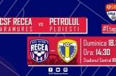 Fotbal – Liga a II-a: Recea pierde acasă cu Petrolul Ploiești