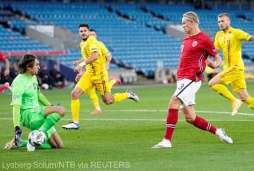 Fotbal: România, surclasată de Norvegia cu 4-0, în Liga Naţiunilor