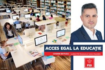"""Cosmin Butuza: """"PSD are programe de susținere pentru a face față haosului din educație"""""""