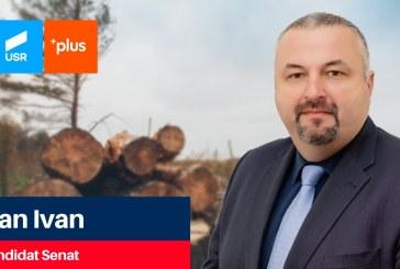 Dan Ivan (USR PLUS): Stopăm fenomenul de tăieri ilegale ale pădurilor din Maramureș!