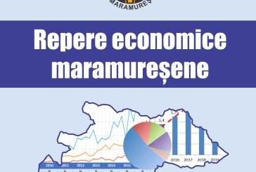 """Camera de Comerț și Industrie Maramureș anunță lansarea Ediției 2020 a lucrării de referință """"Repere economice maramureșene""""."""