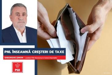 """Gheorghe Șimon (PSD): """"Guvernul PNL va aduce creșteri de taxe și austeritate în România"""""""