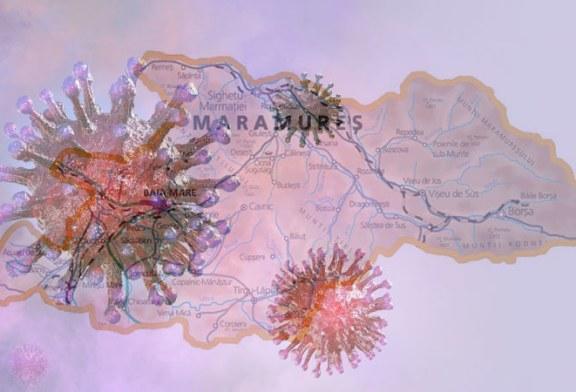 Coronavirus Maramureș: 66 de noi cazuri în ultimele 24 de ore