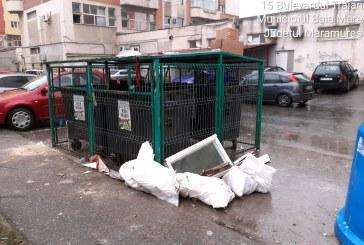 SE ÎMPUTE TREABA – Drusal nu mai ridică anumite deșeuri din Baia Mare de mâine