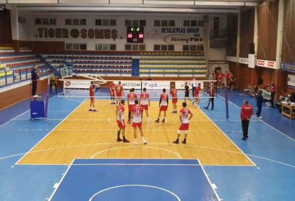 Volei masculin: Știința Explorări Baia Mare – Dinamo București 1-3