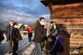 Ionel Bogdan, vizită în cătunulCornățea, unde oamenii nu au acces la electricitate. Ce spune președintele CJ