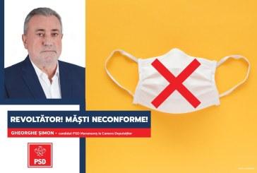 """Gheorghe Șimon (PSD): """"Guvernul PNL acceptă la vânzare măști neconforme"""""""