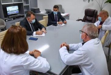 Ionel Bogdan s-a întâlnit cu Nelu Tătaru la Spitalul Județean din Baia Mare