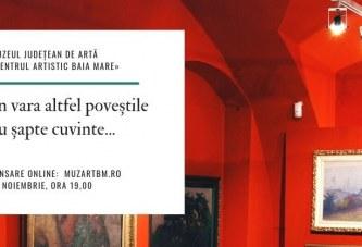 Muzeul Județean de Artă «Centrul Artistic Baia Mare»  va celebra Noaptea Muzeelor 2020 printr-un eveniment online
