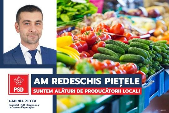 PSD a votat în Parlament redeschiderea piețelor și târgurilor!