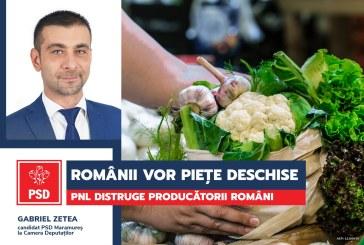 """Gabriel Zetea (PSD): Președintele Iohannis consideră închiderea piețelor ca fiind o """"măsură justă""""!"""