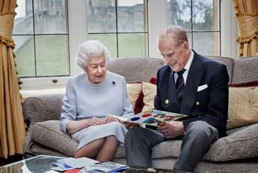 Imaginea zilei: Regina Elisabeta a II-a a Marii Britanii și prințul Philip au sărbătorit 73 de ani de la căsătorie