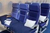 Lufthansa testează un nou concept de așezare a pasagerilor în avion la clasa economică, numit Sleeper's Row