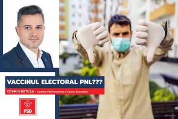 """Cosmin Butuza (PSD): """"Guvernul PNL se folosește de vaccinul anti-COVID în scop electoral"""""""