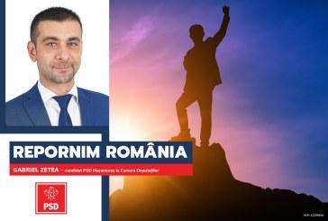 """Gabriel Zetea (PSD): """"Hai să repornim România!"""""""