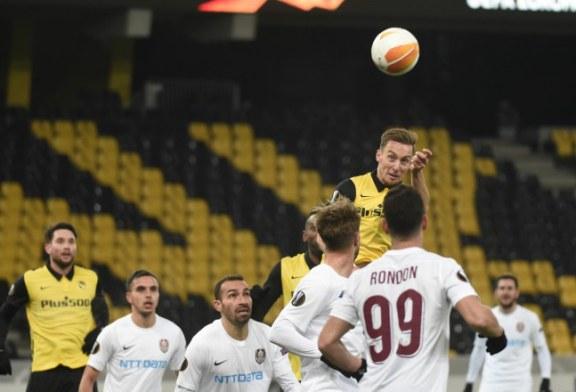 Fotbal: CFR Cluj, eliminată nedrept din Europa League, după 1-2 cu Young Boys Berna