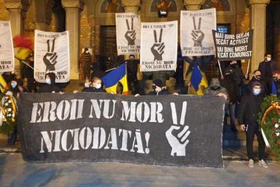Imaginea zilei: Timișoara 16.12.2020 – tradiţionalul marş al suporterilor din Timişoara care au comemorat evenimentele din urmă cu 31 de ani