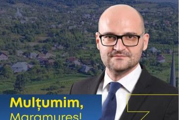 Florin Alexandru Alexe, deputat PNL Maramureș: victoria arată că maramureșenii au încredere în planul nostru pentru dezvoltarea județului