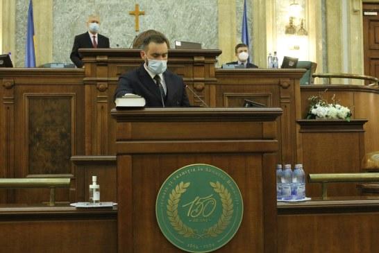 Cristian Niculescu-Țâgârlaș ales vicelider al senatorilor PNL