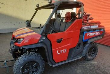 Nou: Vehicul utilitar pentru stingerea incendiilor la ISU Maramureș