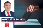"""Sorin Vlașin: PSD lansează campania """"Votezi ca să te salvezi!"""""""