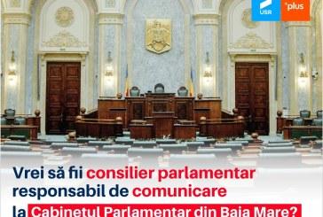 Senatorul USRPLUS Dan Ivan, singurul parlamentar din Maramureș care își angajează consilierii printr-o selecție publică
