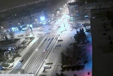 Imaginea zilei: Prima zi de iarnă autentică în Baia Mare