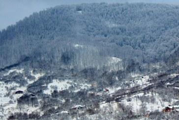 Iarnă autentică în Maramureș (FOTO)