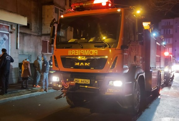 Incendiu devastator într-un apartament din Baia Mare: O persoană a decedat, iar 46 au fost evacuate