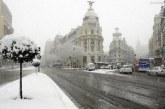 VIDEO – Autorităţile din Madrid vor tăia 80.000 de copaci avariaţi de furtuna de zăpadă