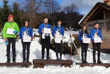 Orientare pe schiuri: Noi medalii pentru CS Știința Electro Sistem Baia Mare