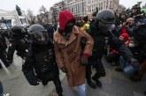 Proteste în Rusia: peste o mie de protestatari au fost reținuți de către autorități