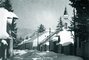 Imagine de colecție: Iarnă în Baia Mare, anul 1932