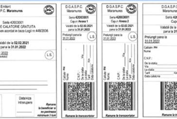 DGASPC Maramureș transmite prin poștă biletele de călătorie gratuită pentru persoanele cu dizabilități